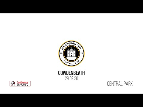Cowdenbeath Edinburgh City Goals And Highlights
