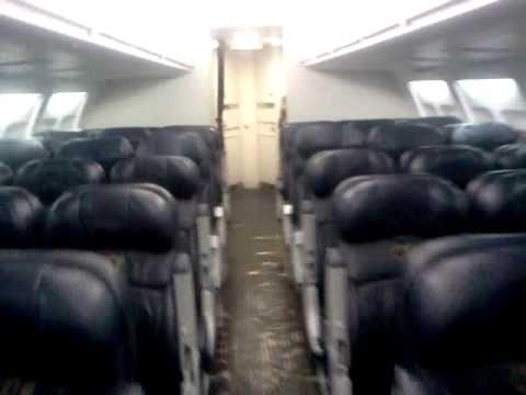 Boeing 737-300 interior