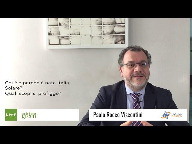 Italia Solare 2019 - Paolo Rocco Viscontini (italia Solare)