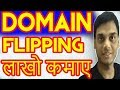 How To Make Money From Domain Flipping  Explained ? | Earn by Buying and Selling Domain | Hindi