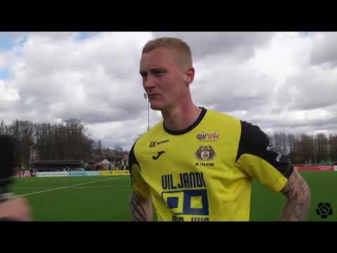 10. voor 2018: Viljandi JK Tulevik - Tallinna FC Flora 0:6 (0:0) Sander Posti intervjuu