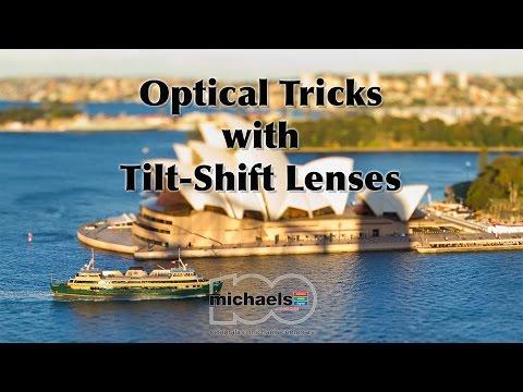 Optical Tricks with Tilt-Shift Lenses