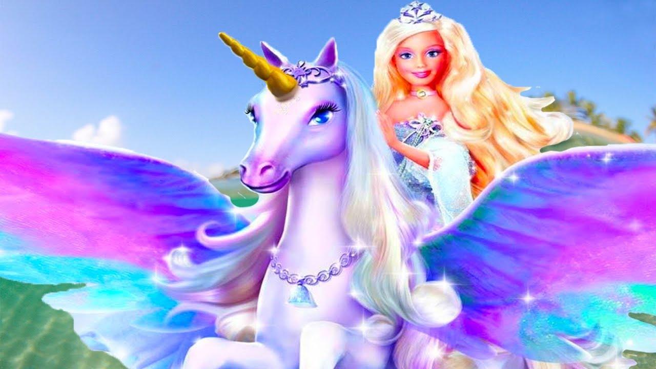 Барби и волшебные дельфины Барби спасает дельфинов Морской ...