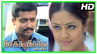 Gambar cover Kaaka Kaaka movie scenes | Suriya and Jyothika decide to marry | Jeevan intro | Yog Japee