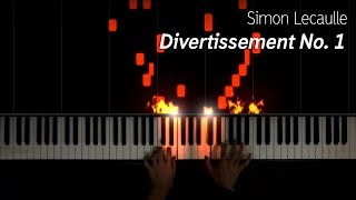 Simon Lecaulle - Divertissement 1, piano cover