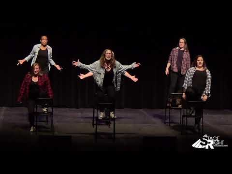 "Bitch of Living - Alumni Girls - 2017 ""Stage Wrong"" Alumni Cabaret - female"