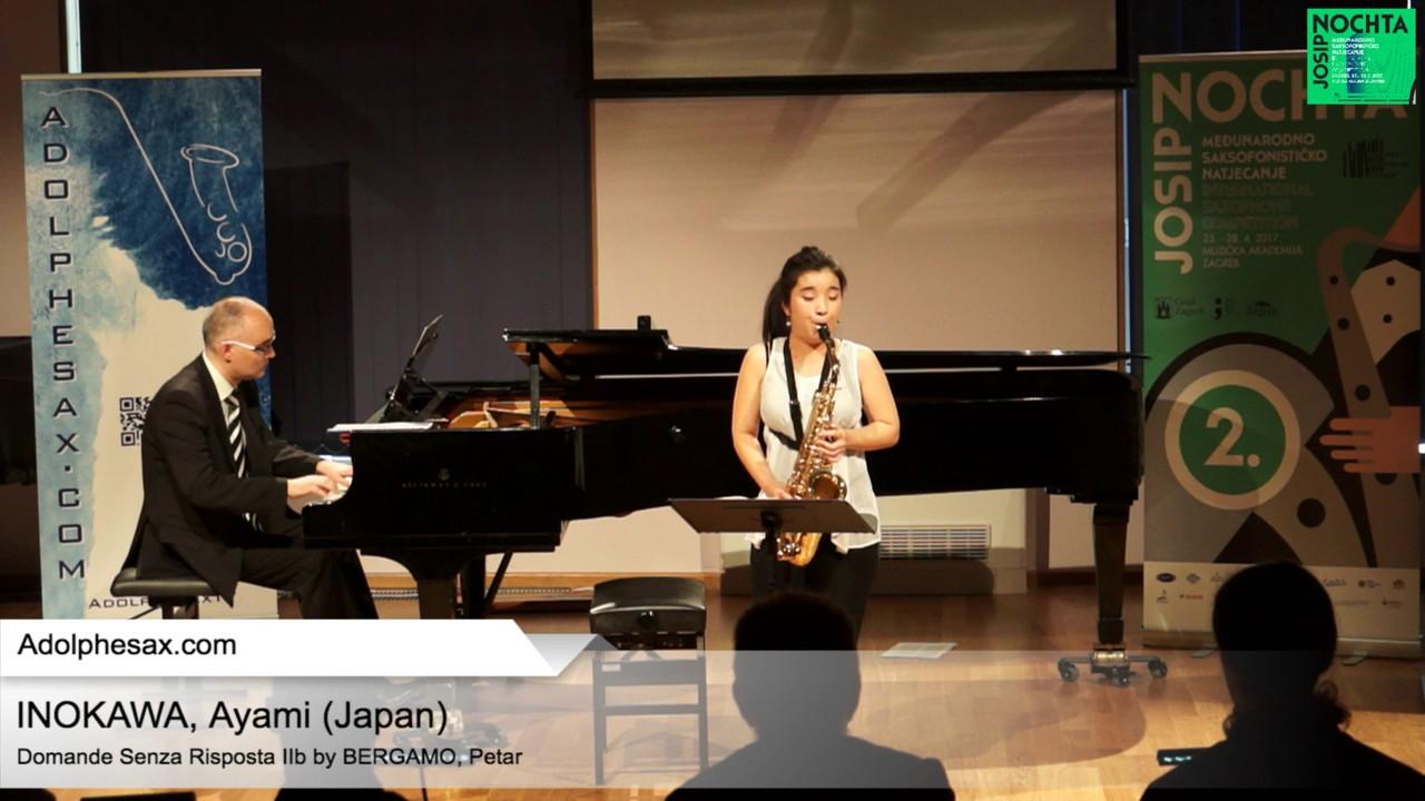 Domande senza risposta IIb (Petar Bergamo) - HINOKAWA, Ayami (Japan)