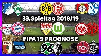 33.Spieltag - Die große Konferenz + Alle Highlights und Tore - Bundesliga Prognose I FIFA 19 [HD]