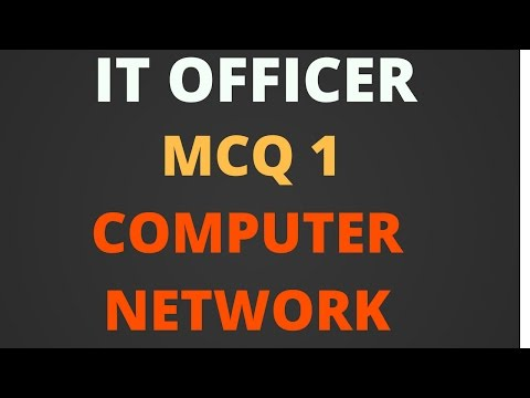 It Officer - MCQ 1