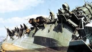 Старые брошенные корабли.