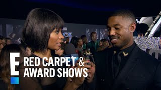 """""""Black Panther"""" Cast React to Their Action Figures 