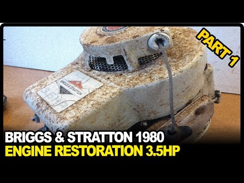 Briggs and Stratton Engine Repair 3.5HP 1980   PART 1