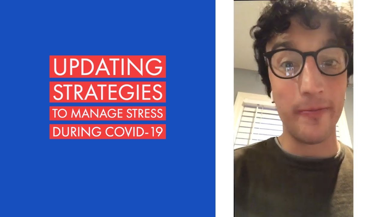 Updating Strategies to Manage Stress