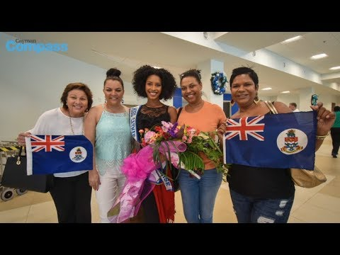 Miss Cayman Islands Universe returns from Thailand