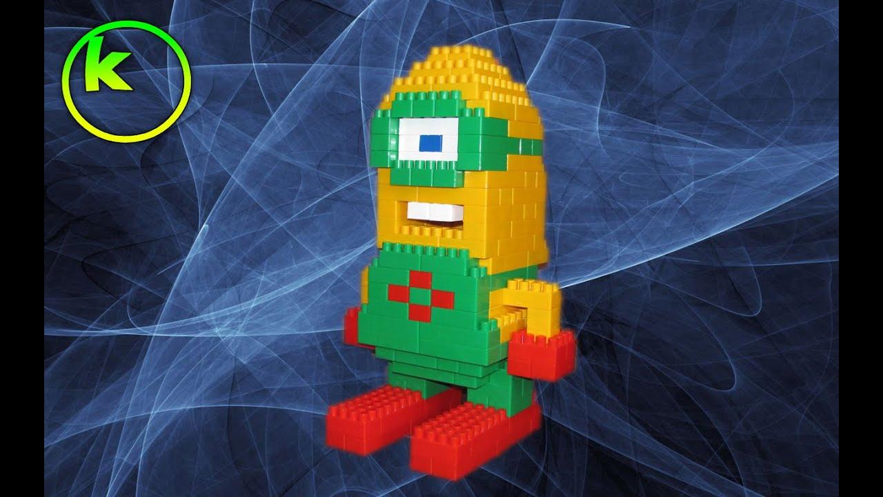 Увольняюсь, картинки как сделать робота из кубиков