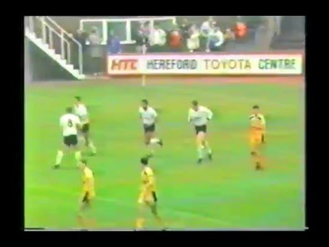 Hereford United Goals 1986-1987