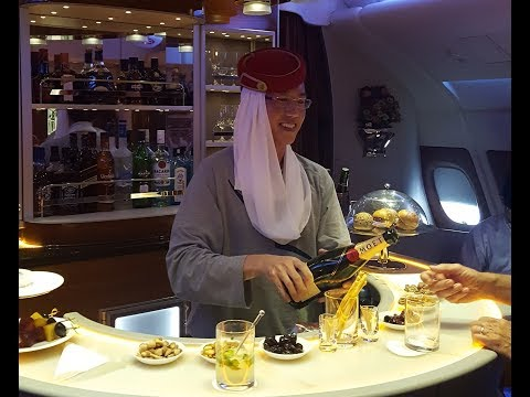 Emirates Business Class - Dubai to Sydney (EK 414) - Airbus A380-800