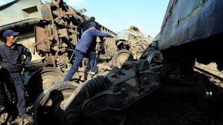 مصرع 20 مواطنا وإصابة 50 في تصادم قطارين في مدينة الإسكندرية الساحلية