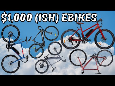 So You Want a $1,000 Ebike (Rideal, RadMission, Roadster V2, Core-5, Pace 350)