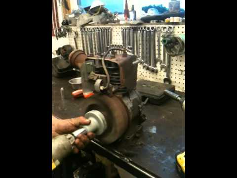 How to Rebuild a 5 hp briggs and stratton engine, and