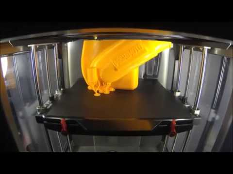 MakerBot Replicator Z18 Time Lapse Ford Mustang EcoBoost  InterCooler