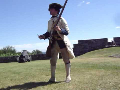 Fort Ticonderoga Musket Demo 2013