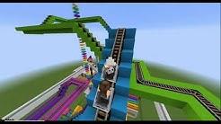 Minecraft - PARQUE DE DIVERSÕES NO MINECRAFT