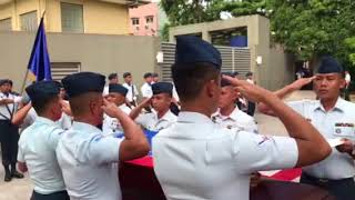 21 Guns Salute for Isabel Granada by the Philippine Airforce