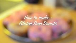 How To Make Gluten Free Donuts