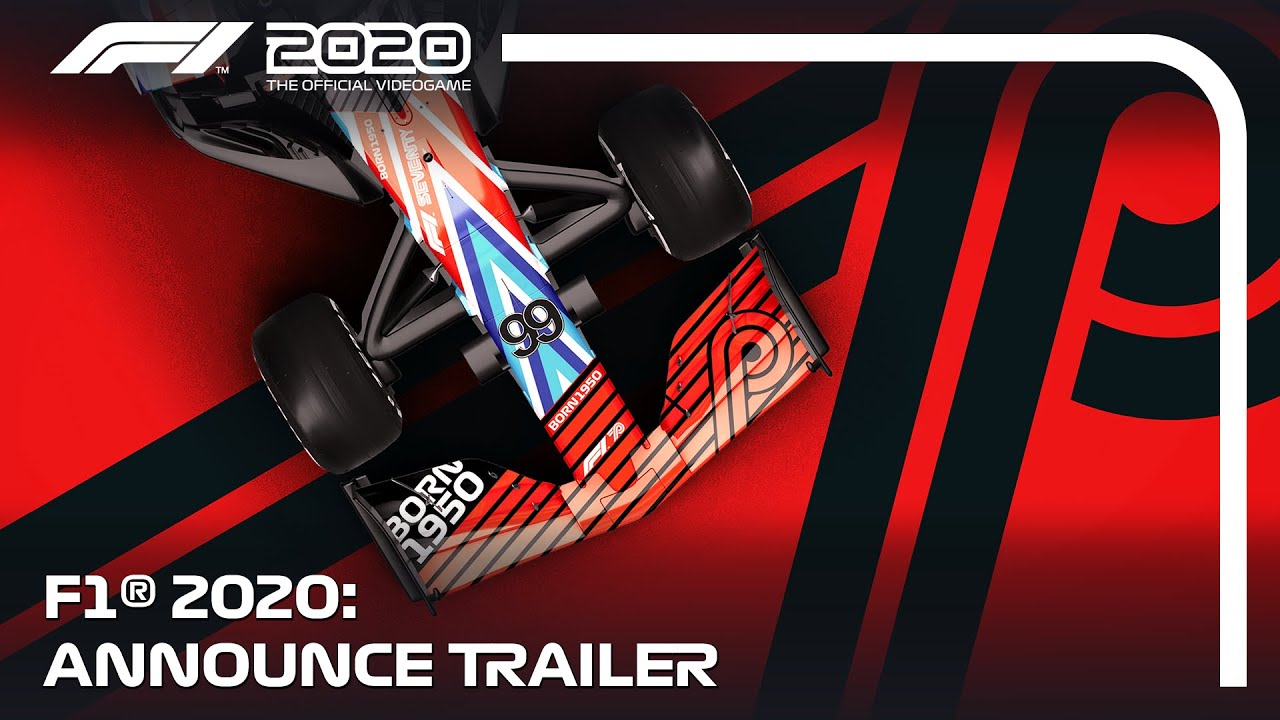 F1 2020 Announce Trailer Youtube