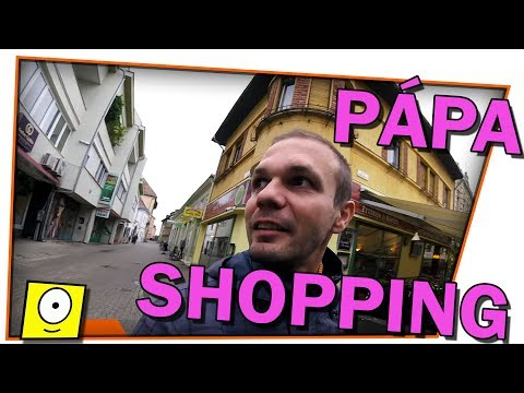 Pápa shopping