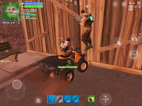 Fortnite Mobile -  Victory Royale in Squads