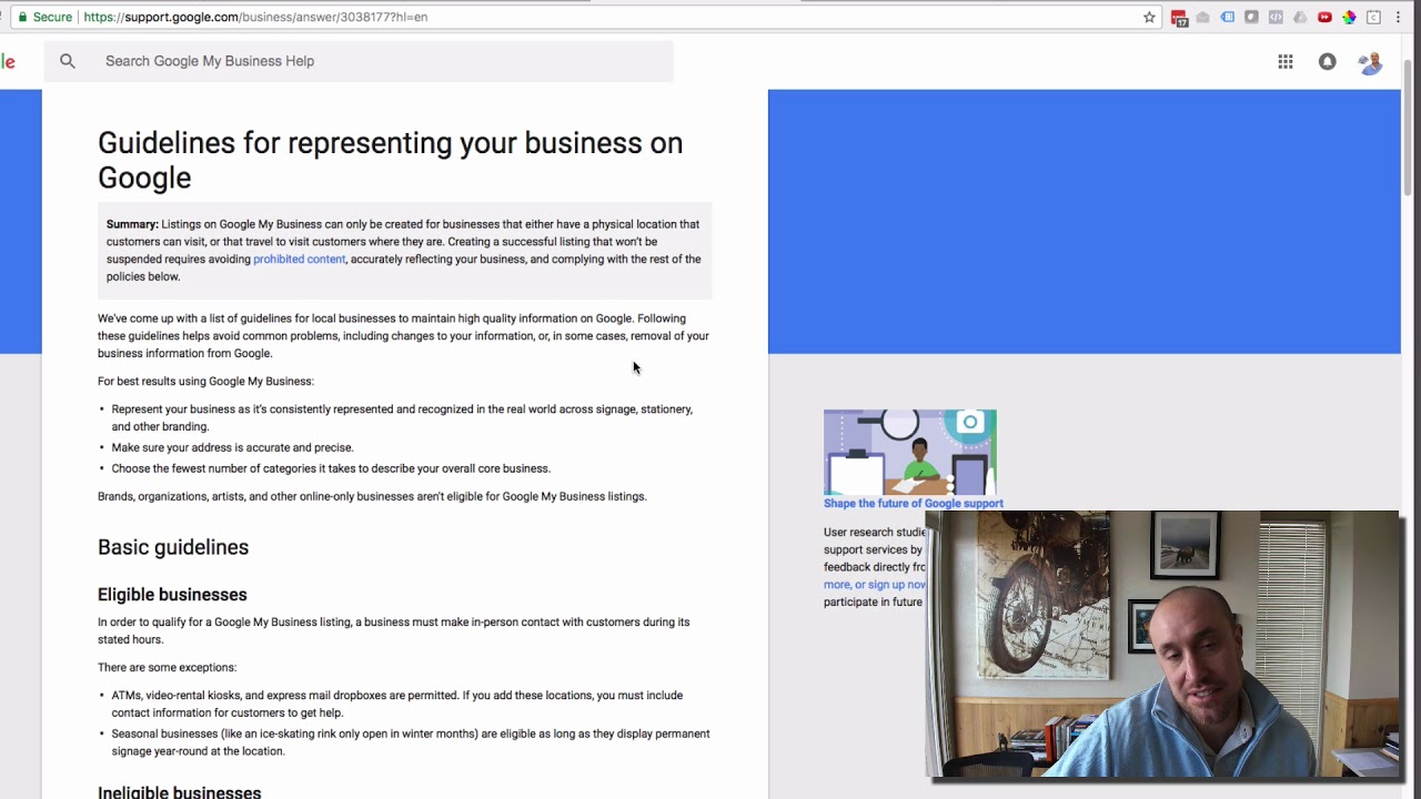 What Is The Correct Way To Enter Your Business Name in Your Google My  Business Account?