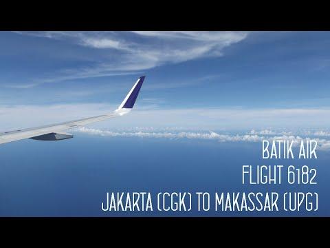 FLIGHT REPORT : BATIK AIR FLIGHT 6182 JAKARTA (CGK) - Makassar (UPG)