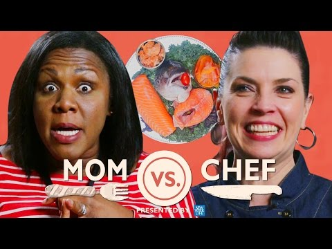 Thumbnail: Mom vs Chef: Battle Salmon // Sponsored by New York Life