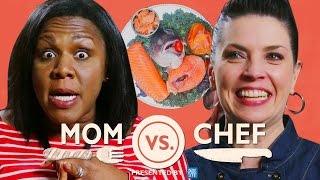 Mom vs Chef: Battle Salmon // Sponsored by New York Life