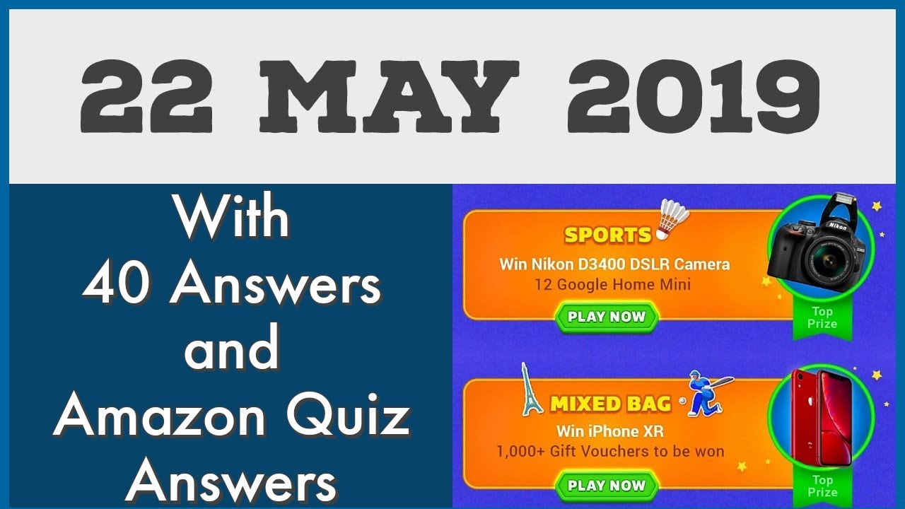 Flipkart Quiz Today 22 May Guess What Answers || Play & Win iPhone Xr &  Camera for Free