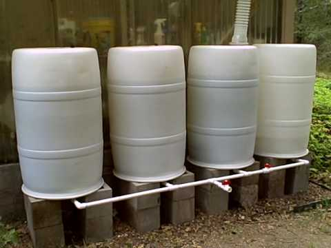 Mnt S Rainwater Collection System With Manifold Youtube