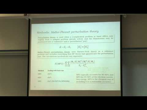 Quantum Chemistry - Lecture 04 - Methods and terminology, part II