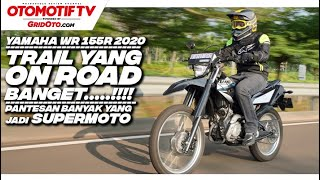 Test Ride Yamaha WR 155R, Trail Yang On Road Banget! Pas Jadi Supermoto l Otomotif TV
