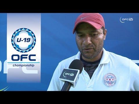 Post Match Interview: New Caledonia v Solomon Islands