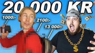 ANIS STYLAR MIG FÖR 20 000 KR
