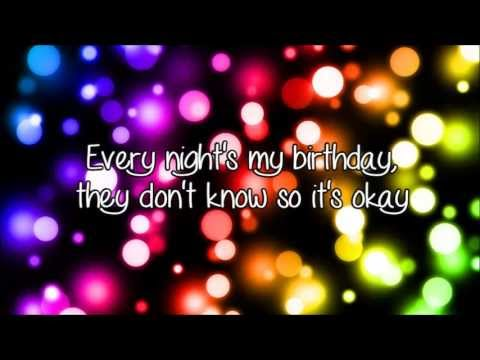 selena gomez birthday lyrics