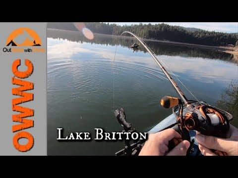 Kayak Fishing Lake Britton - This Lake CRUSHED Me This Time