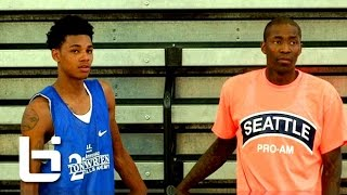 dejounte murray has that baby jamal crawford type game official mixtape