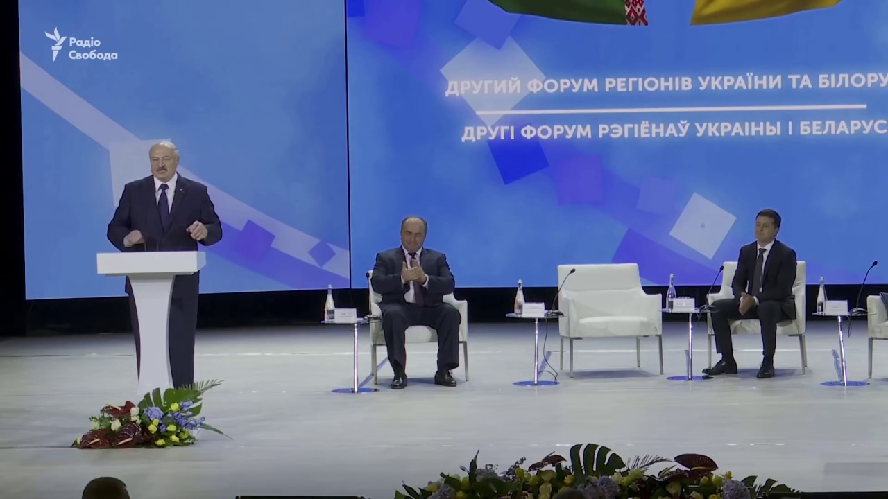 Як Зеленський Лукашенка повчав