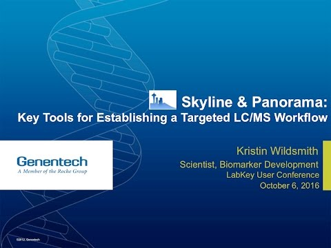 Skyline and Panorama: Key Tools for Establishing a Targeted LC/MS Workflow