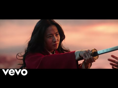 Loyal Brave True  Christina Aguilera ('From Mulan'  Video Official)