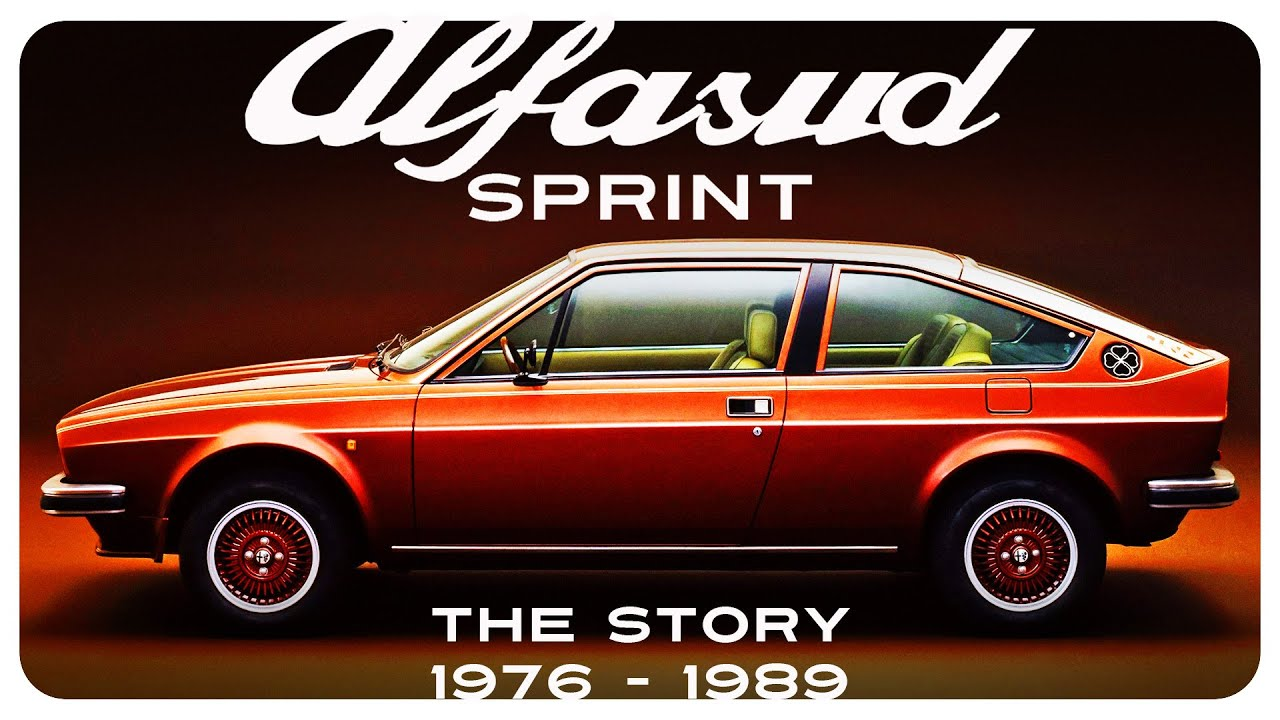 Why the Alfasud Sprint is cool