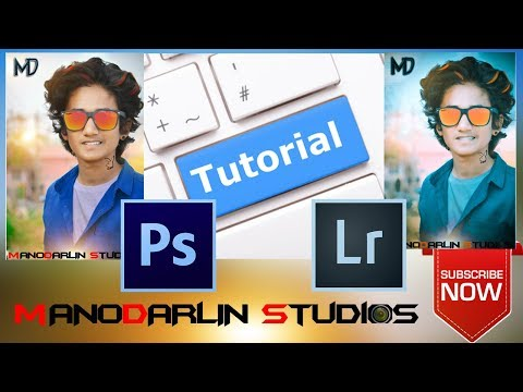 Adobe Photoshop Tutorial : The Basics for Beginners |MANODARLIN| |MD STUDIOS |PHOTOSHOP&LIGHTROOM| thumbnail